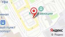 Гостиница Аэропорт на карте