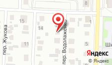 Отель Солнечный на карте