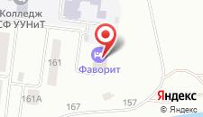 Отель Oasis на карте