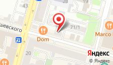 Мини-отель Амулет на карте