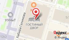 Гостиница Holiday Inn Ufa на карте