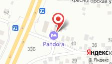 Гостинично-развлекательный комплекс Пандора на карте