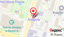 Гостиница Агидель на карте