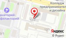 Отель В Центре на карте