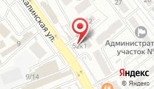 Гостиница Автомобилист на карте
