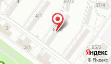 Апартаменты на Проспекте Октября на карте