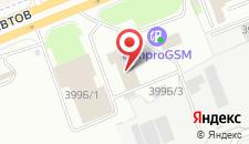 Гостиница Регион 59 на карте