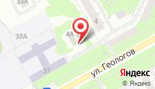Гостиница Престиж на карте