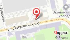 Хостел Университетский на карте