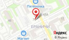 Мини-отель Триумф на карте