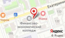 Гостиница Татьяна на карте