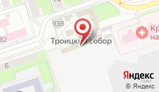 Гостиница Абрикос на карте
