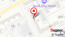 Мини-отель Алберго на карте