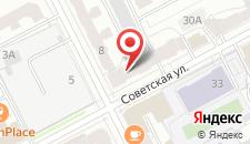 Гостиница Виконт на карте