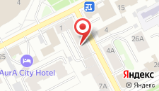 Гостиница На Сибирской на карте