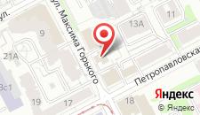 Гостиница TRAVEL на карте