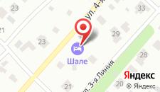 Отель Шале на карте