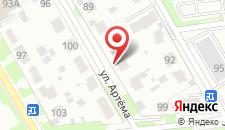Мини-гостиница Гамильтон на карте