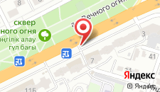 Апартаменты На Молдагулова 5а на карте