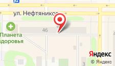 Апартаменты Нефтяников на карте