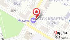 Отель Ассоль на карте