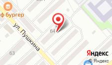 Отель Белорецк на карте