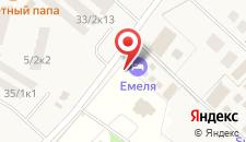 Гостиничный комплекс Емеля на карте