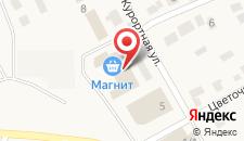 Гостиница Монблан на карте
