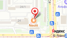 Гостиница Строитель на карте
