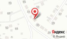Отель Уютный дом на карте