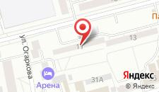 Гостиница Арена Нижний Тагил на карте