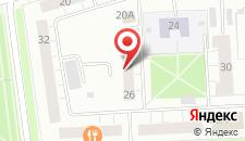 Апартаменты На Ленина 26 на карте
