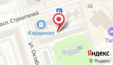 Мини-гостиница На Октябрьской Революции на карте