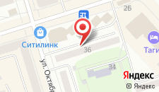 Апартаменты На Октябрьской революции на карте