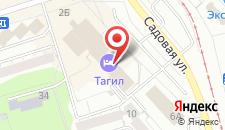 Отель Тагил на карте