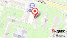 Апартаменты На Ленинградской на карте