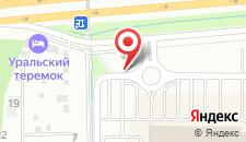 Гостиница Уральский теремок на карте