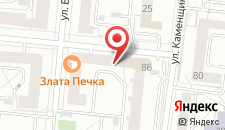 Гостиница Визави на карте