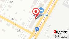 Гостиница На Донбасской на карте