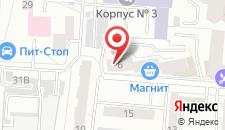 Хостел Уссури на карте