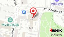 Гостиница УралОтель на карте