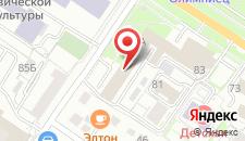 Гостиница А-Класс на карте