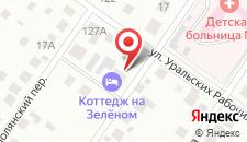 Гостиница Солди  на карте