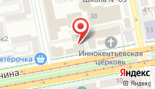 Гостиница DoubleTree by Hilton Ekaterinburg City Centre на карте