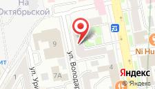 Хостел Рус-Екатеринбург на карте