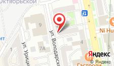 Хостелы Рус - Екатеринбург на карте