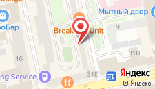 Гостиница Gold на карте