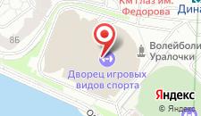 Гостиница ДИВС на карте