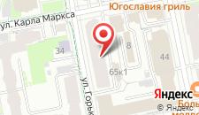 Хостел РедСтар на карте