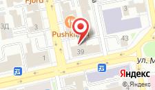 Хостел B&B на Пушкина на карте